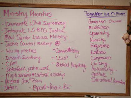 2017-18 Ministry Priorities